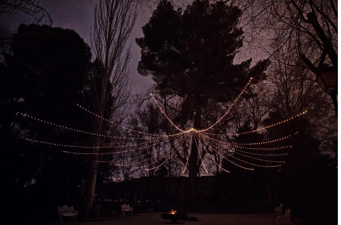 Bodas Invierno 2018. Jardín noche